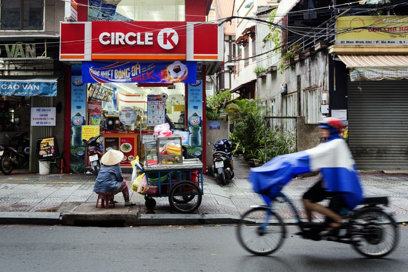 A Circle K store in Ho Chi Minh City